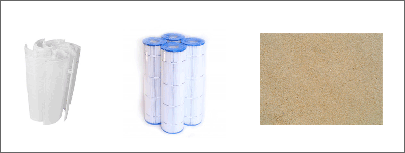 Different Types of Pool Filters