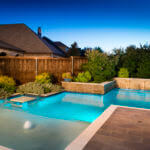 Custom Straight Line Pool McKinney Texas by Pool Stop