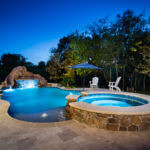 Custom Free Form Pool Nevada Texas by Pool Stop