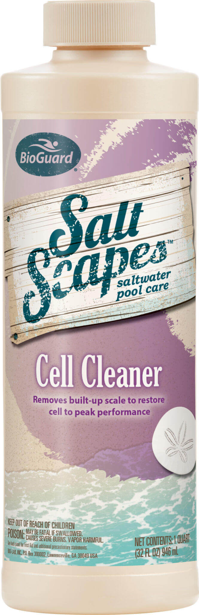 Cell Cleaner Salt Scapes BioGuard 16020BIO Pool Stop Rockwall TX